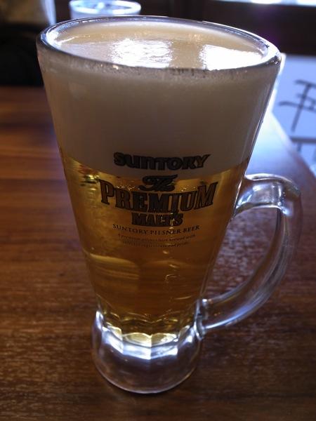 生ビールはプレモル