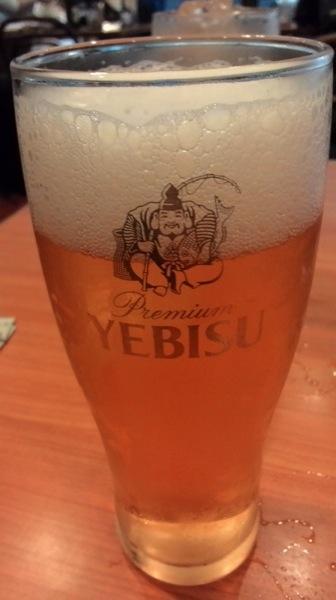 天龍のビール