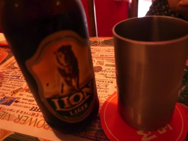 マジックスパイスのビール